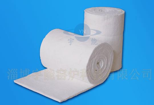 Aluminum silicate fibre blanket