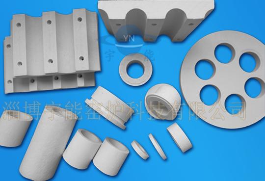 Aluminum silicate fiber profile member